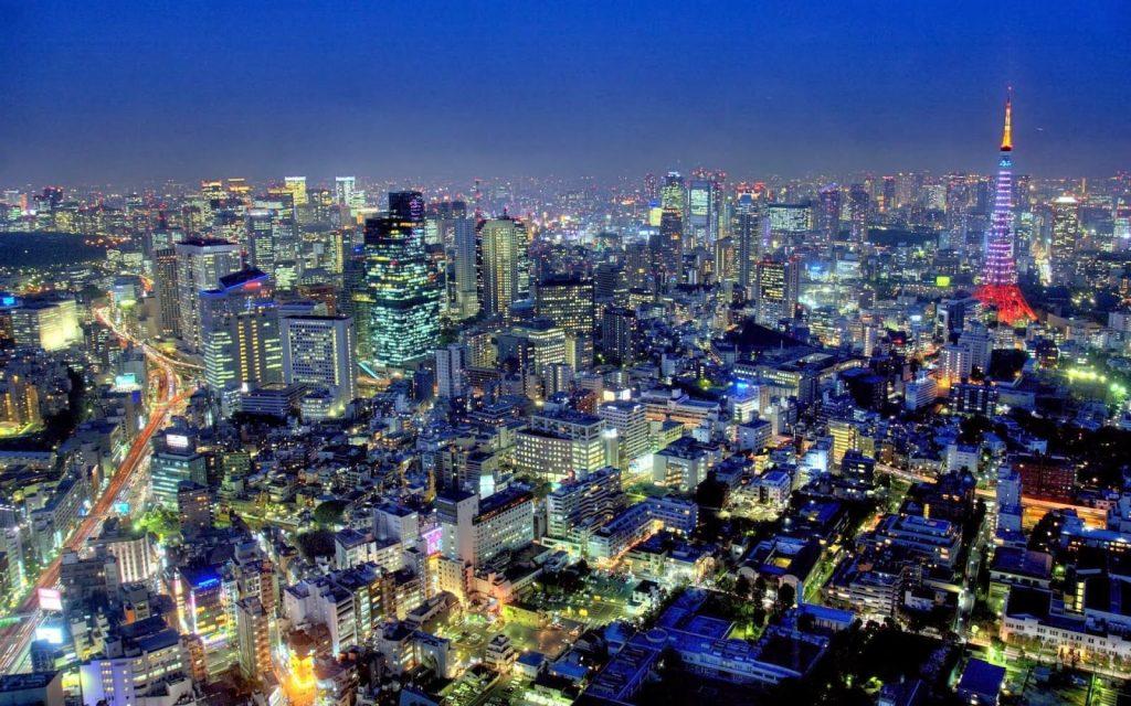 مدينة طوكيو في اليابان اقرأ السوق المفتوح