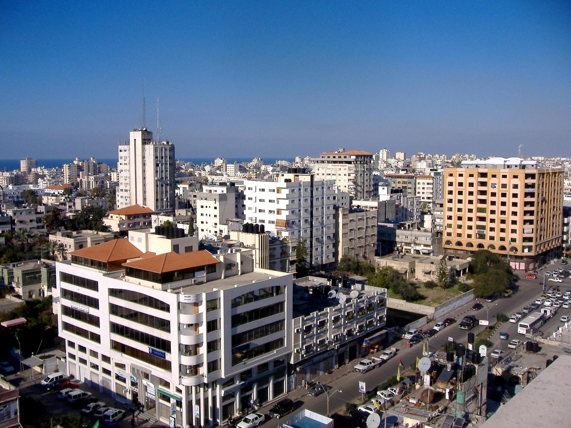 مدينة غزة في فلسطين