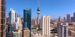 منطقة عبدالله المبارك غرب جليب في مدينة الفروانية