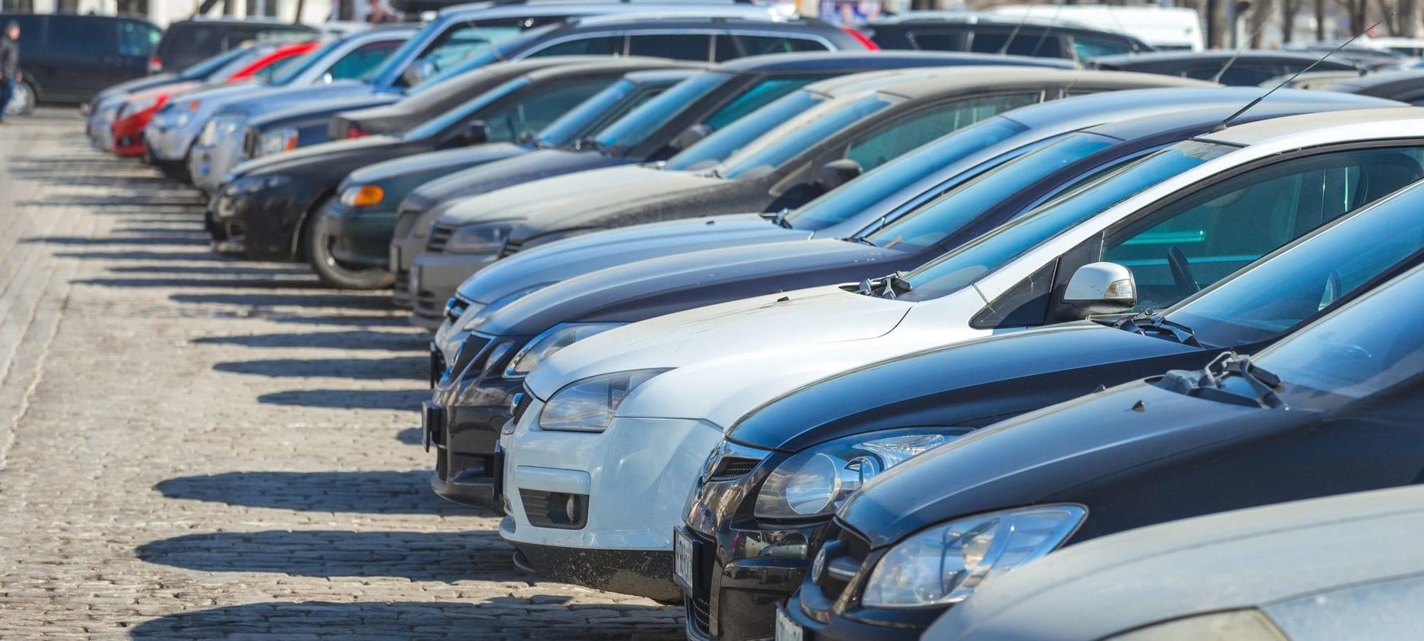 سوق السيارات المستعملة