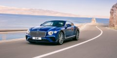 سيارة bentley continental gt