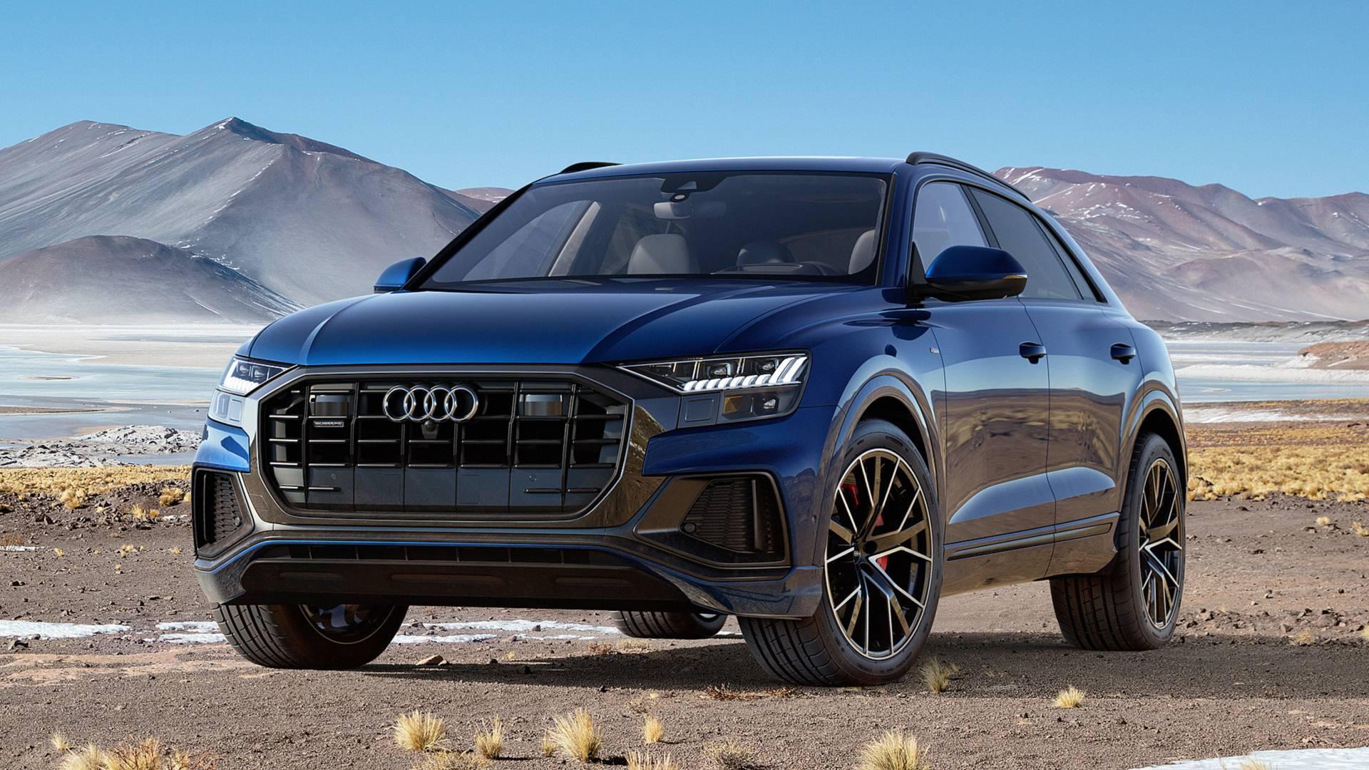 سيارة Audi q8 2019