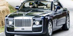 سيارة Rolls royce sweptail