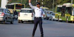 قانون المرور الجديد في العراق