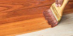 كيفية دهان الخشب بالورنيش