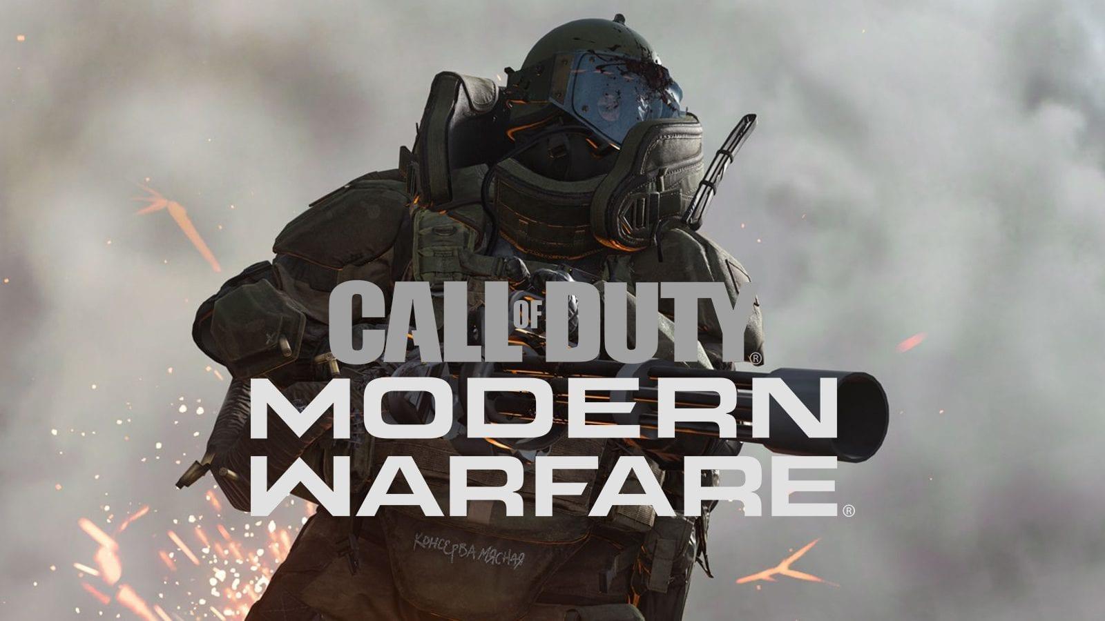 لعبة Call of Duty: Modern Warfare