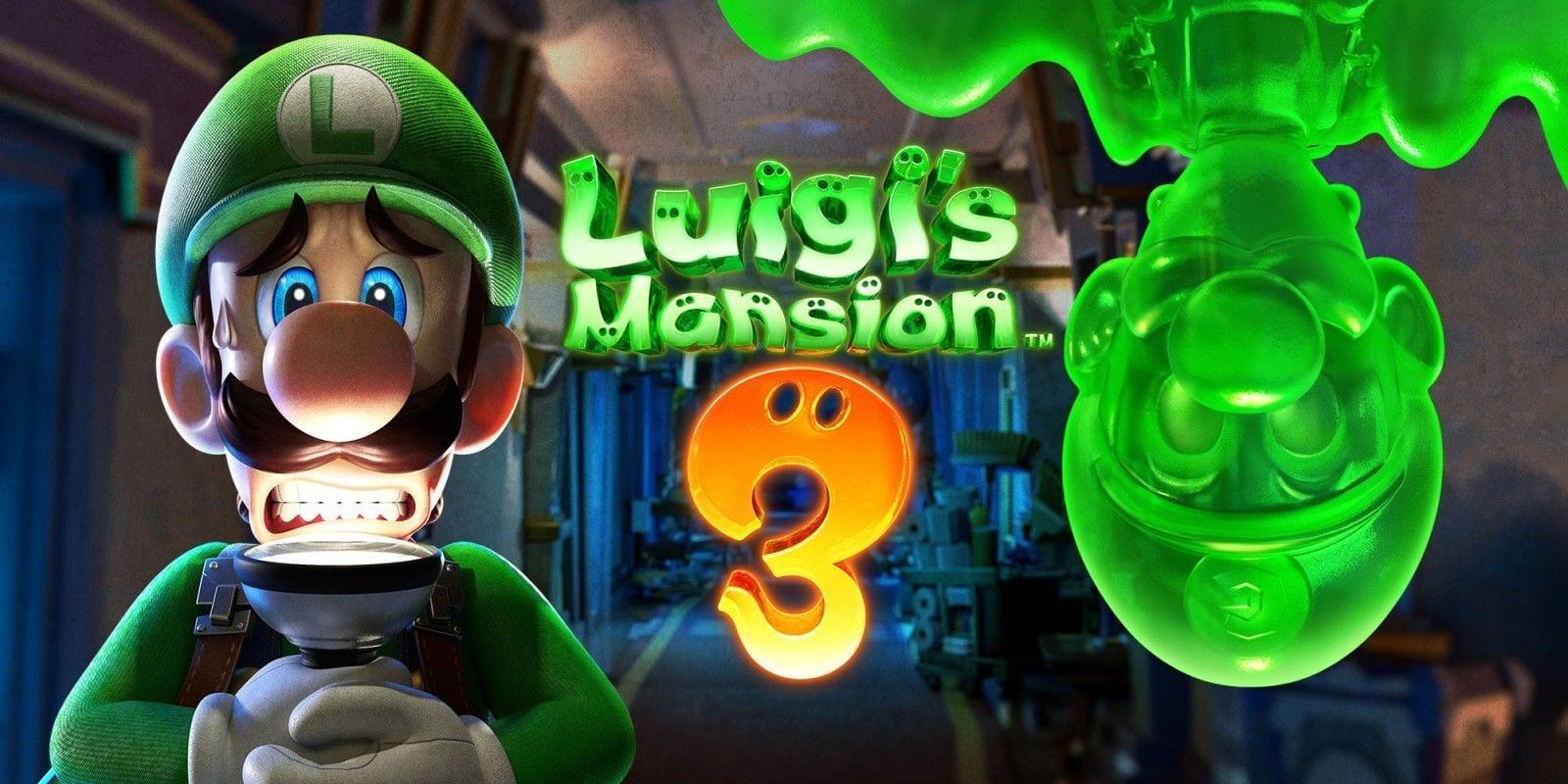 لعبة Luigi's Mansion 3