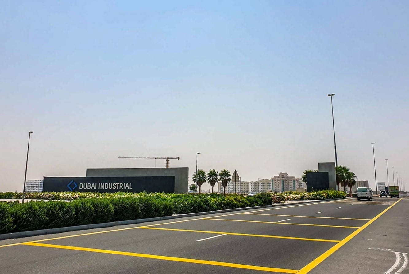 مجمع الفلل الاسبانية ضمن مجمع دبي الصناعي