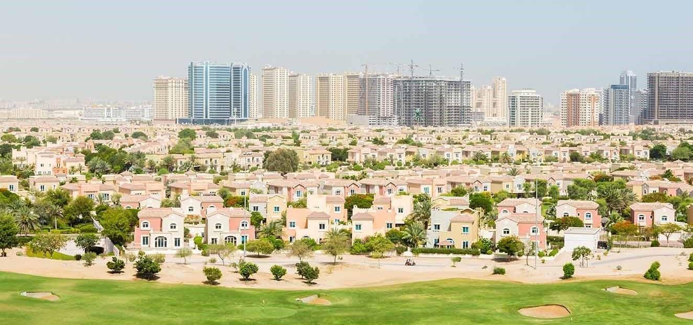 مجمع فلل غاليري في منطقة دبي الرياضية