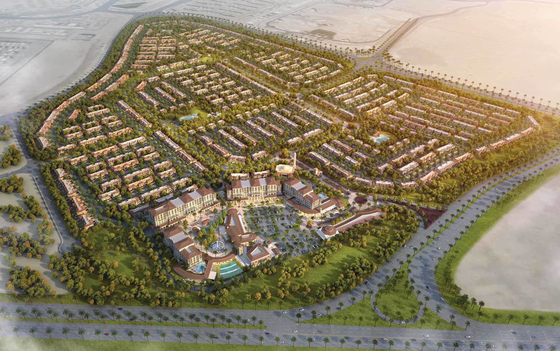 مجمع كاسا دورا في منطقة دبي لاند