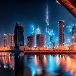 مجمع معين في قلب مدينة دبي