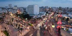 مدينة كازابلانكا في المغرب