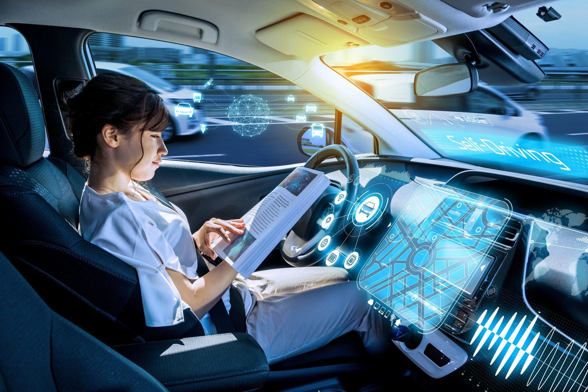 تقنية المركبة المستقلة أو ذاتية القيادة