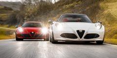 سيارة Alfa Romeo 4c