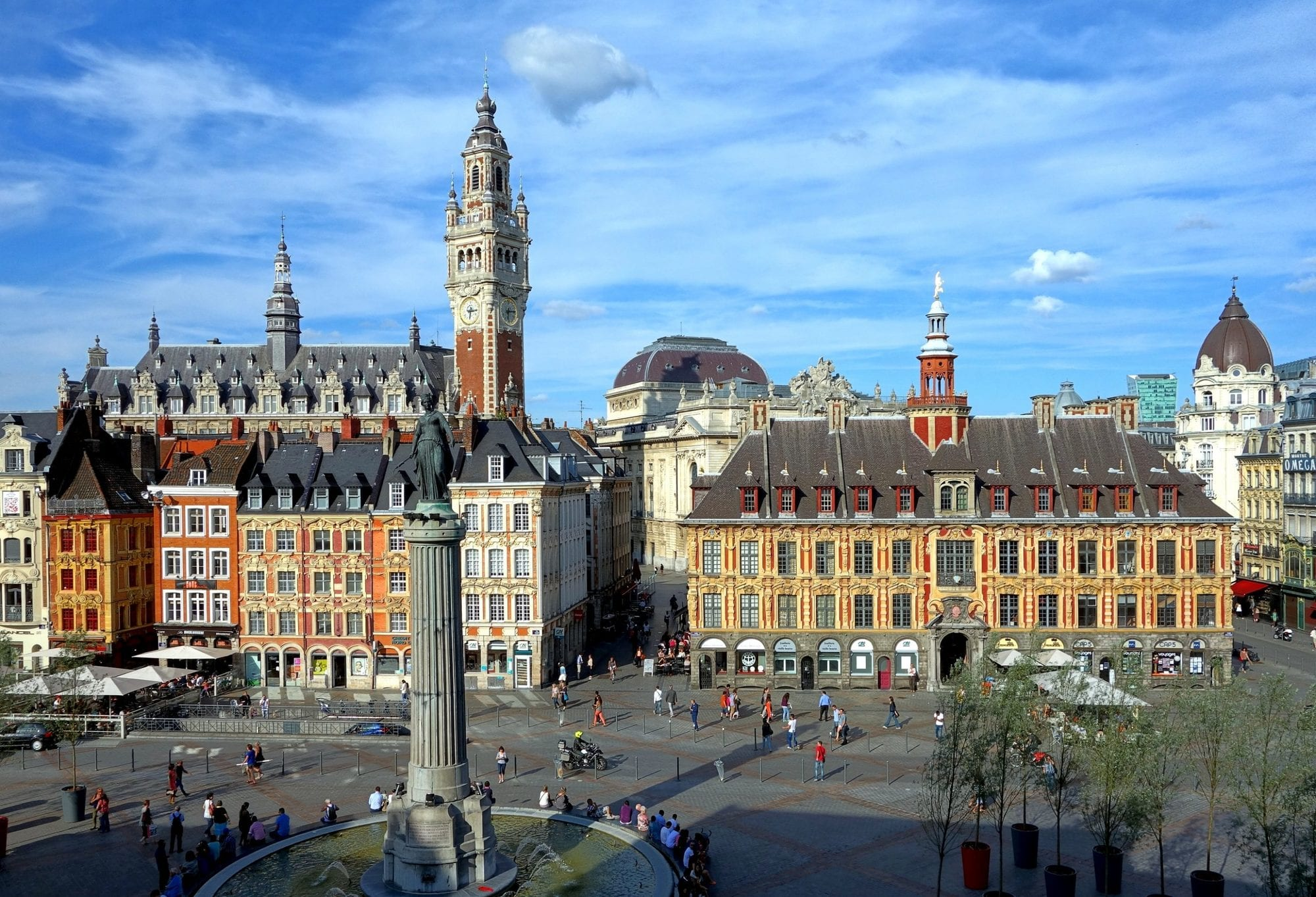 مدينة ليل في فرنسا