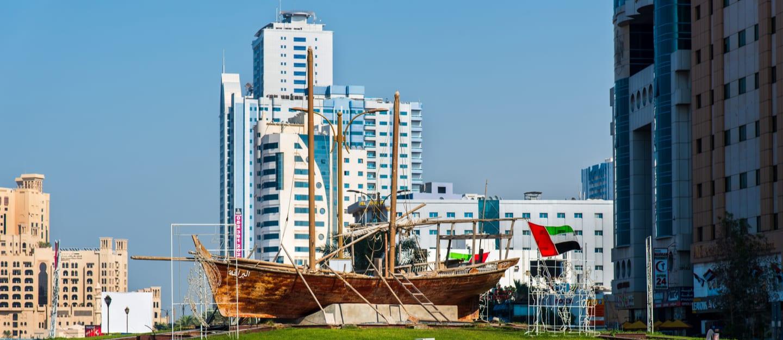 منطقة النخيل في إمارة عجمان