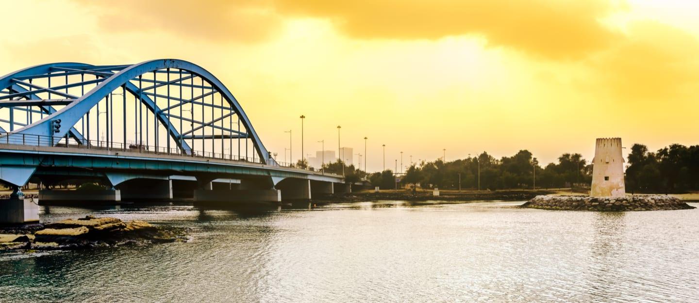 منطقة بين الجسرين في أبوظبي