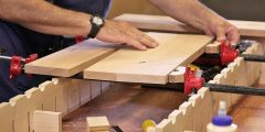 أفكار أعمال خشبية