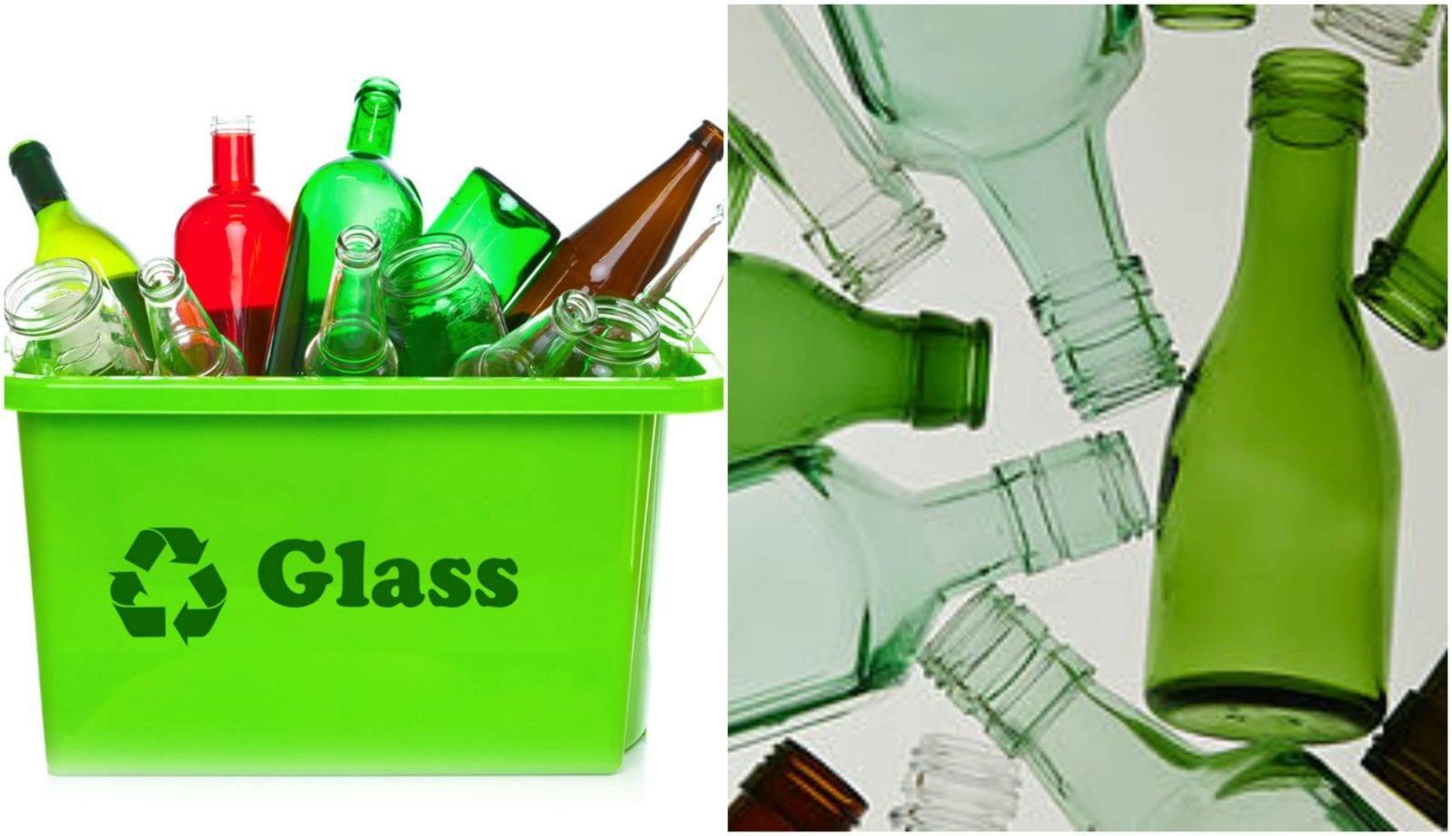 إعادة تدوير الزجاج اقرأ السوق المفتوح