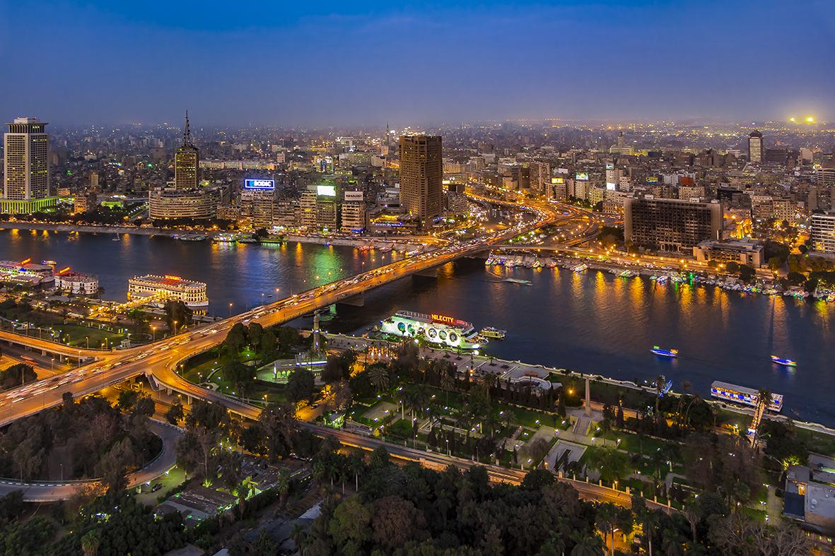 جزيرة الشاي في القاهرة