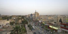 حي التلول في محافظة إربد