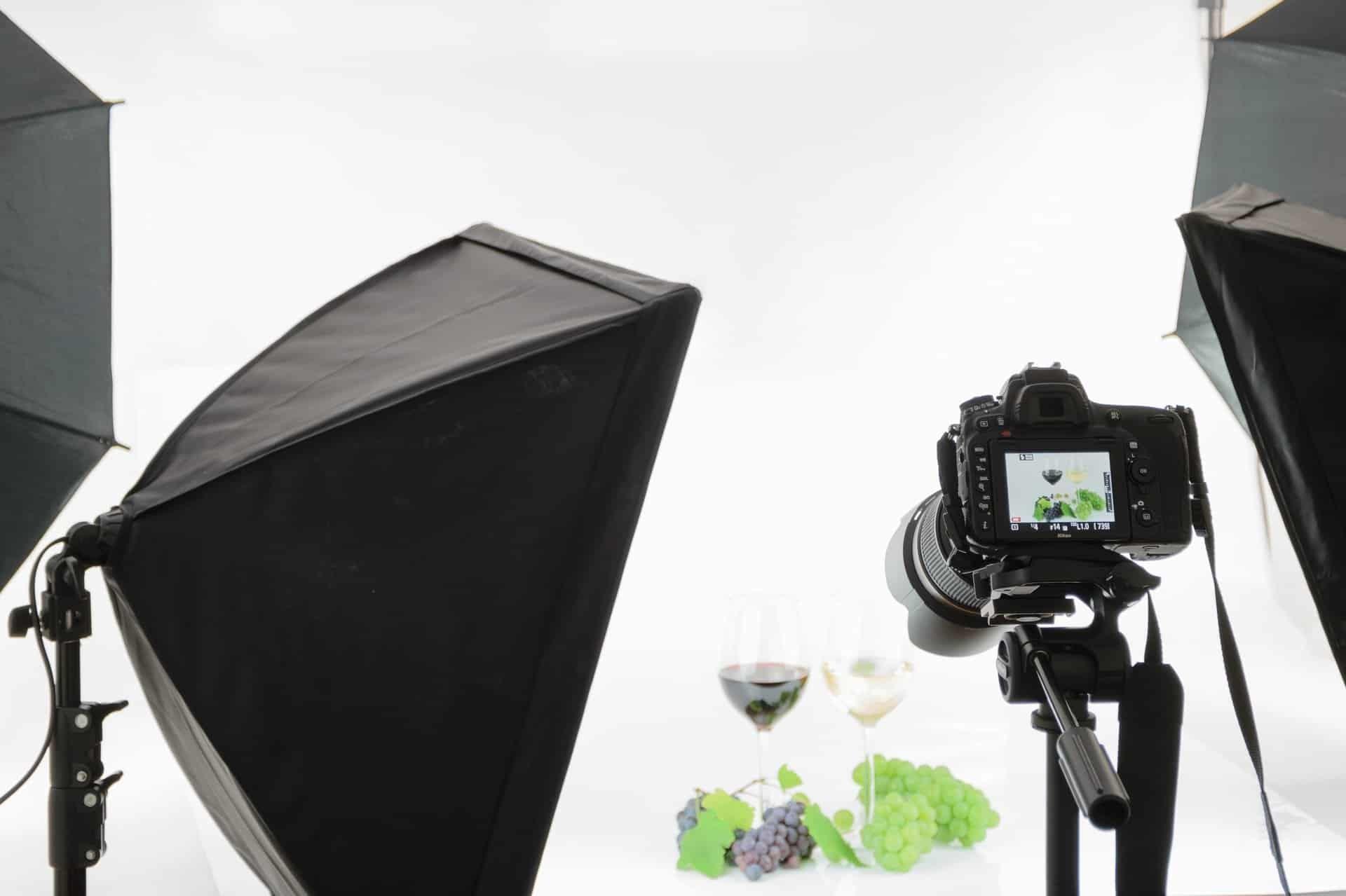 طرق تصوير منتج باحترافية