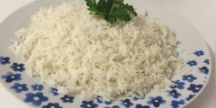 طريقة تحضير أرز أبيض