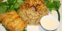 طريقة تحضير أرز السمك