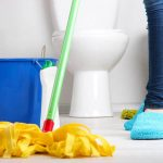 طريقة تنظيف السيراميك بالخل