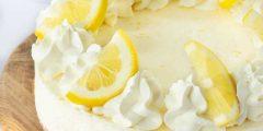 طريقة عمل آيس كريم الليمون