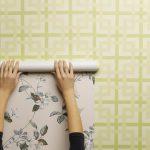 كيفية لصق ورق الحائط
