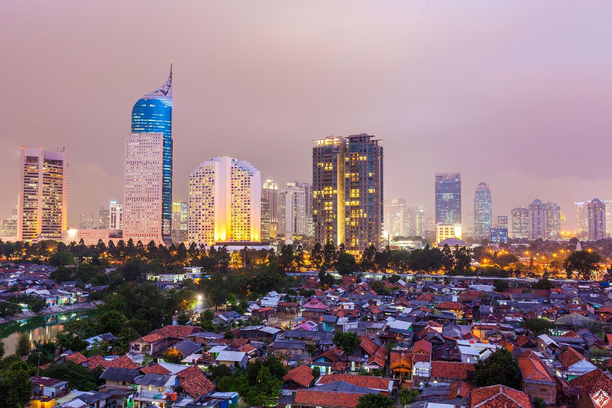 مدن أندونيسيا
