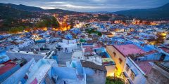 مدينة شفشاون المغرب