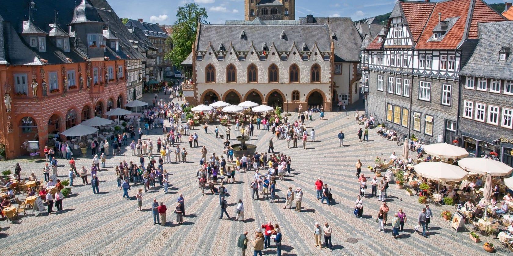 مدينة غوسلار في ألمانيا