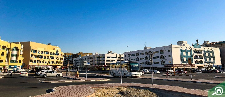 منطقة أبو هيل في حي ديرة