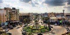 منطقة إشارة الملكة نور في محافظة إربد