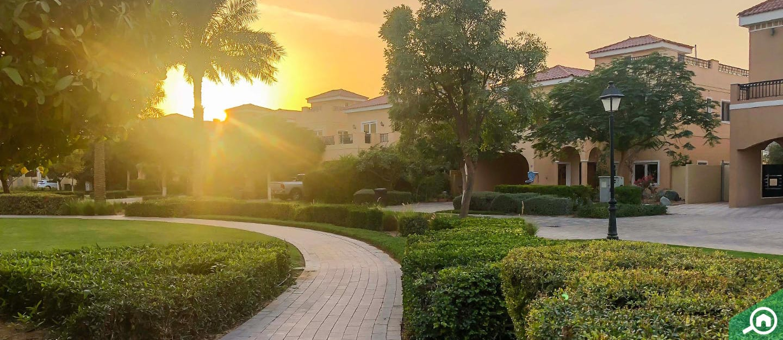منطقة ذا فيلا في إمارة دبي