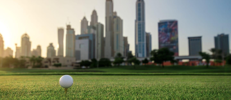 منطقة نادي الإمارات للغولف في إمارة دبي