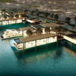 منطقة واجهة دبي البحرية في إمارة دبي