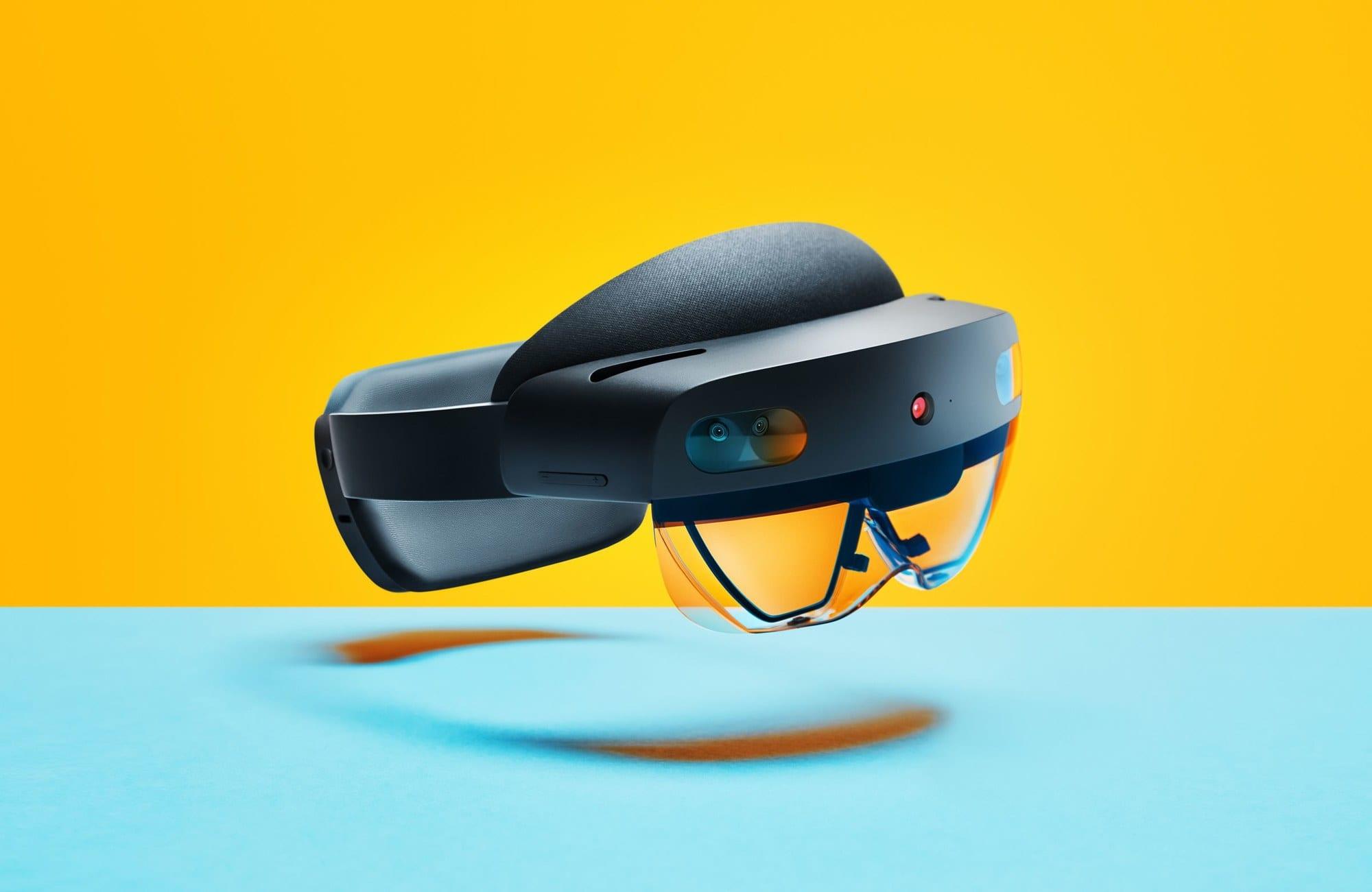 نظارة الواقع الافتراضي Microsoft's Hololens