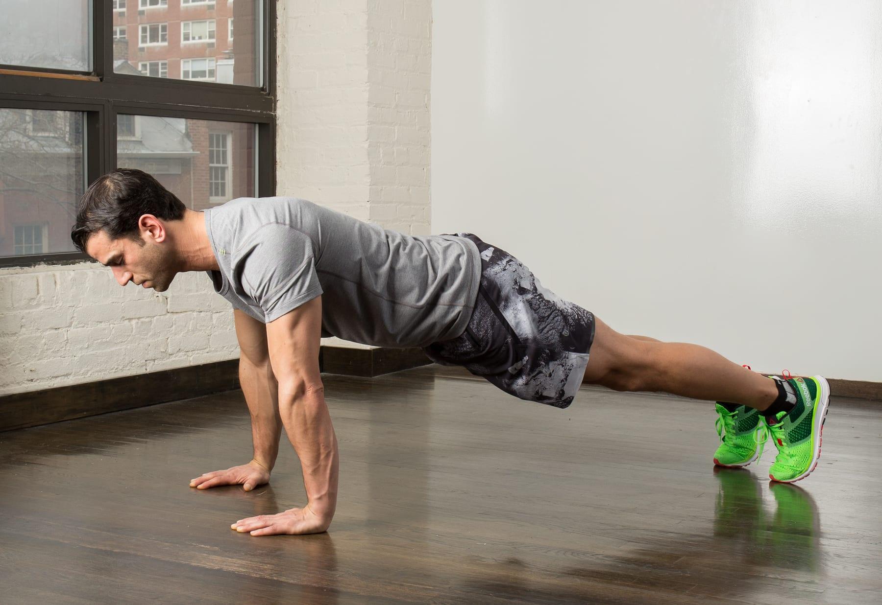 هل تمرين الضغط يضخم العضلات؟
