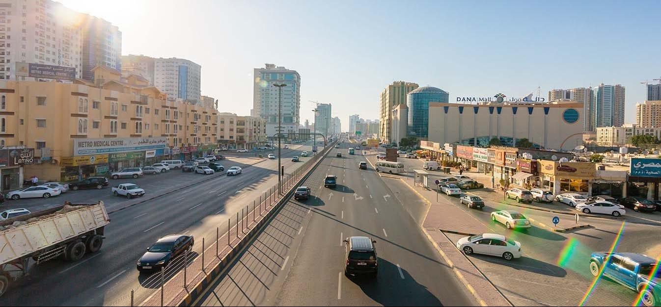 منطقة الرميلة في إمارة عجمان