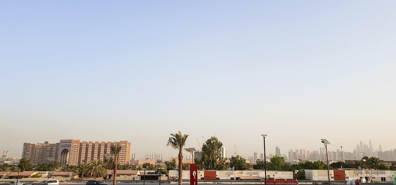 منطقة داون تاون جبل علي في إمارة دبي