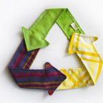 إعادة تدوير الملابس