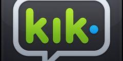 إنشاء حساب كيك ماسنجر