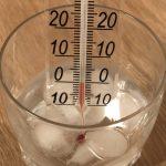 درجة انصهار الماء النقي