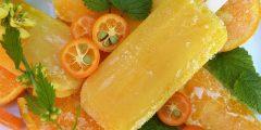 طريقة عمل آيس كريم البرتقال