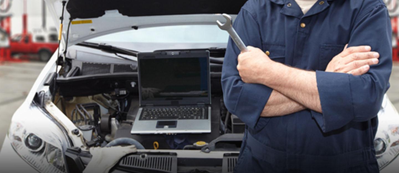 فحص مكينة السيارة بالكمبيوتر new