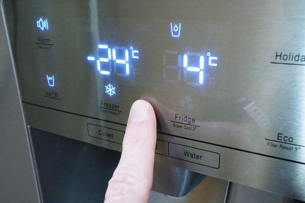 كيفية ضبط برودة الثلاجة
