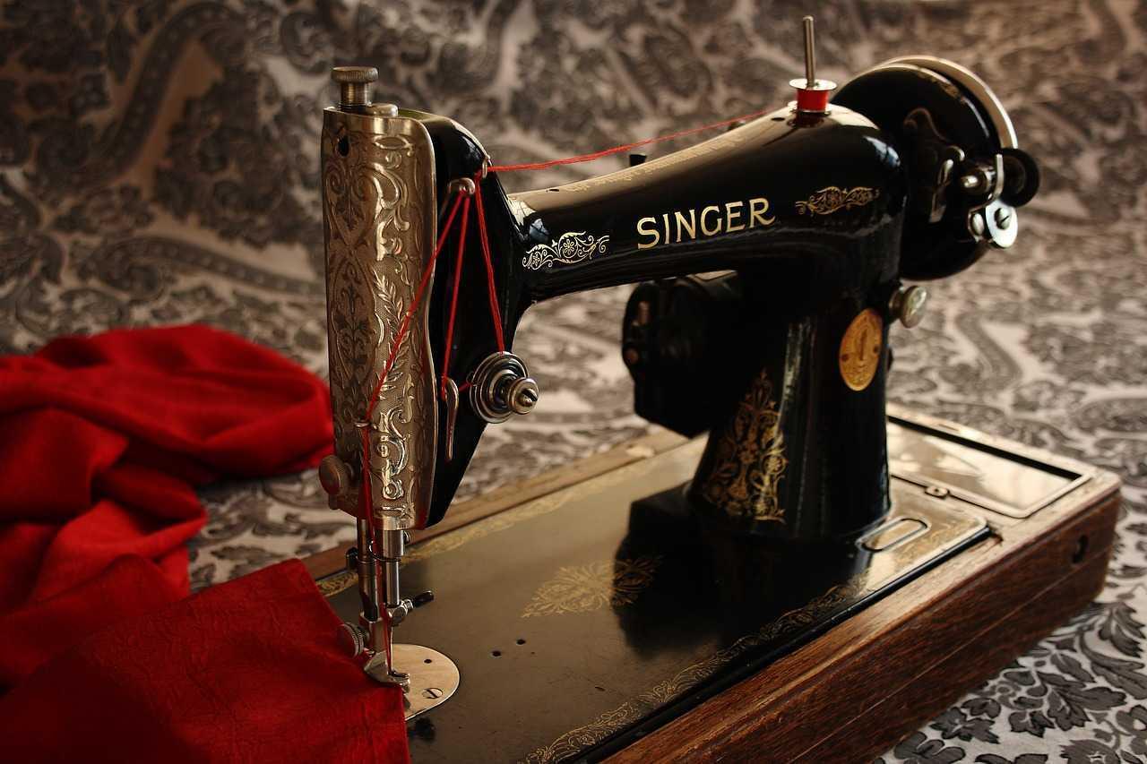كيفية استخدام ماكينة الخياطة سنجر